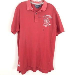 NEW Ralph Lauren Canyon Trail polo shirt Mens XL